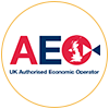 AEO accreditation logo - Home