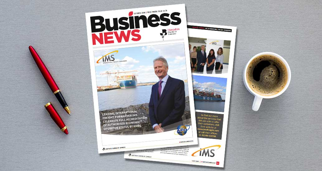 IMS Freight are featured in the Hampshire business news